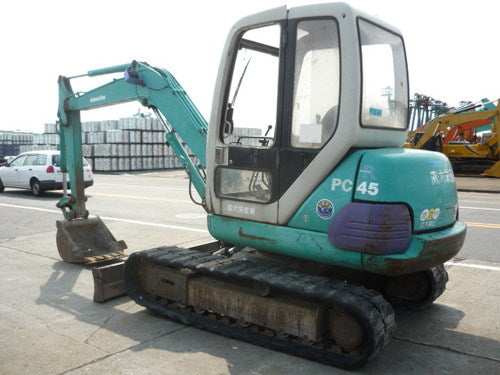 Komatsu PC40-7 PC45-1 Mini Excavator Official Workshop Service Repair Technical Manual