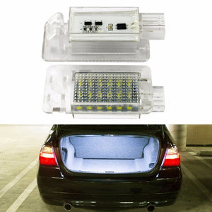 2PCS LED For Volvo XC70 S60 S80 C70 XC90 LED luggage compartment light Trunk light auto lighting system  Automotive parts