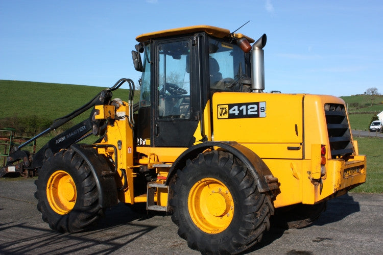 Jcb 412s 414s 416s Wheeled Loader Official Workshop Service Repair Manual