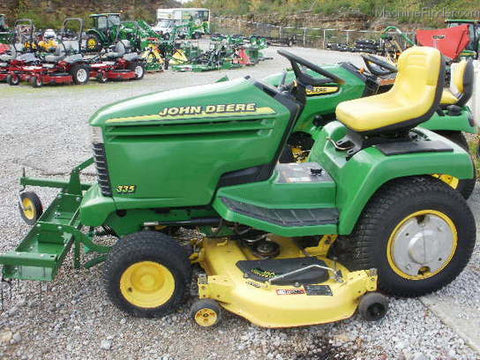 John Deere 300 Series 325 335 345 Lawn And Garden Tractors Technical Service Manual