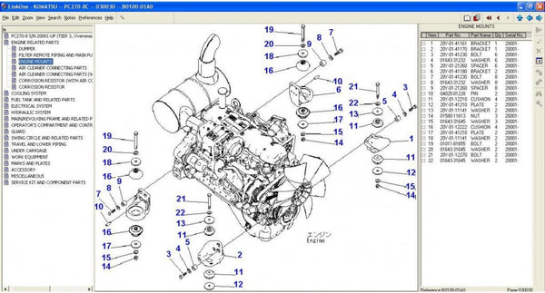 Komatsu Construction  Epc  Parts Manual Software All