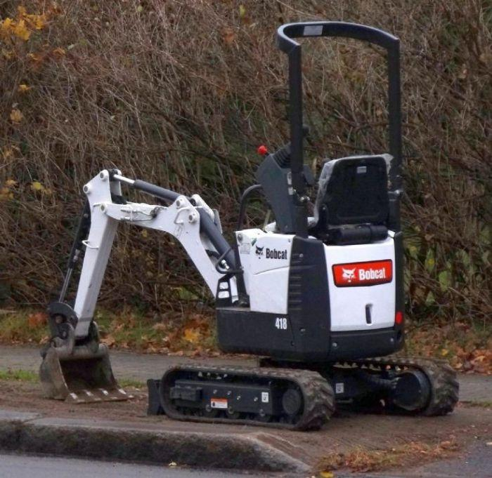 Bobcat X418 418 Compact Excavator Workshop Service Repair Manual