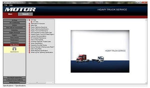Motor Heavy Truck Service v13.0 - Diagnostic Repair And Service Procedures Service Information & Wiring Diagrams- Online Installation Service !