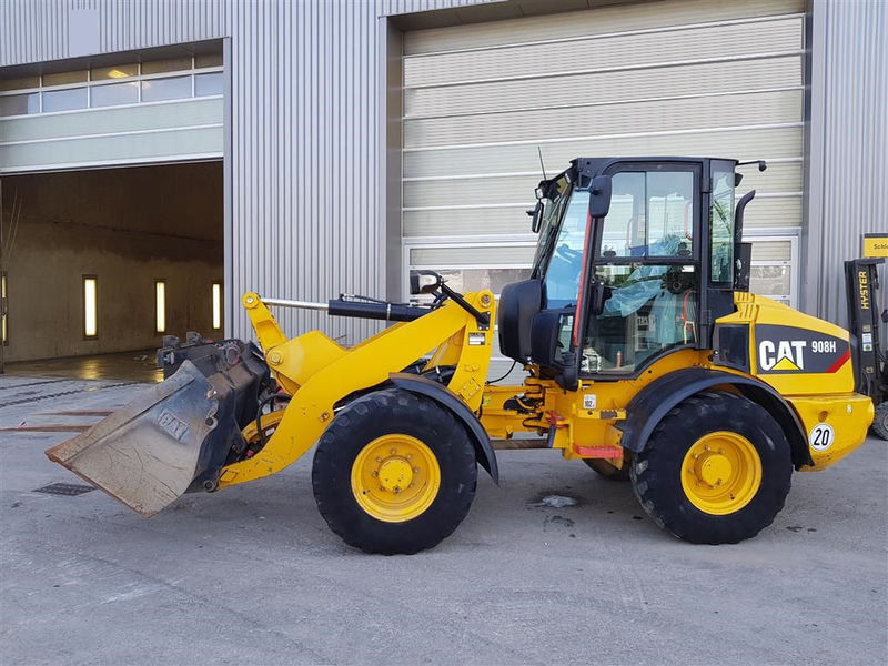 908H Compact Wheel Loader Workshop Service Repair Manual S/N : MXF