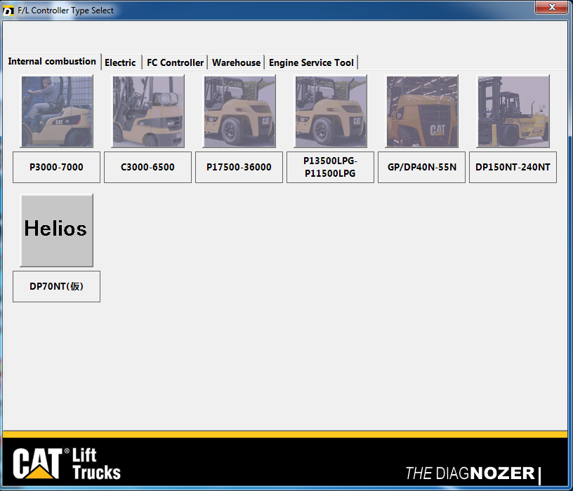 Forklift Diagnozer 3.9 - Full diagnostics Software For CAAT Forklifts