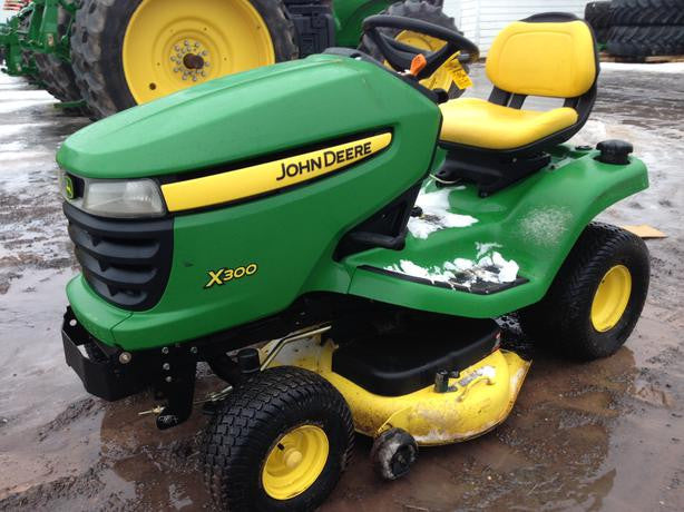 John deere x360 owners manual
