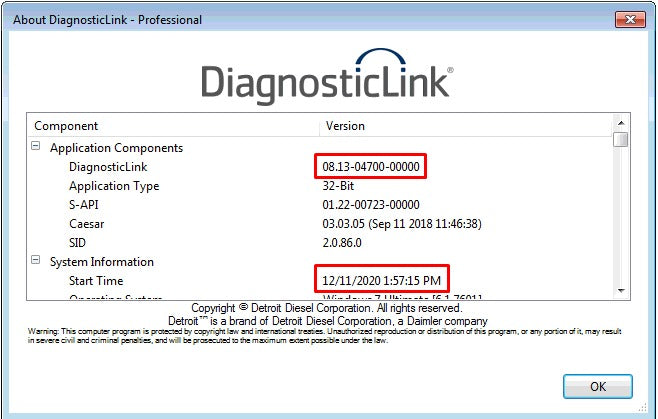 Detroit Diesel Diagnostic Link (DDDL 8.13 ) Professional 2021 -ALL Grayed Parameters Enabled ! ALL Level 10 !!