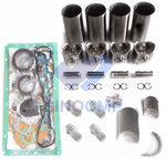 4HJ1 Engine Overhaul Rebuild Kit For Isuzu Truck Loader Forklift Engine Isuzu OEM Parts