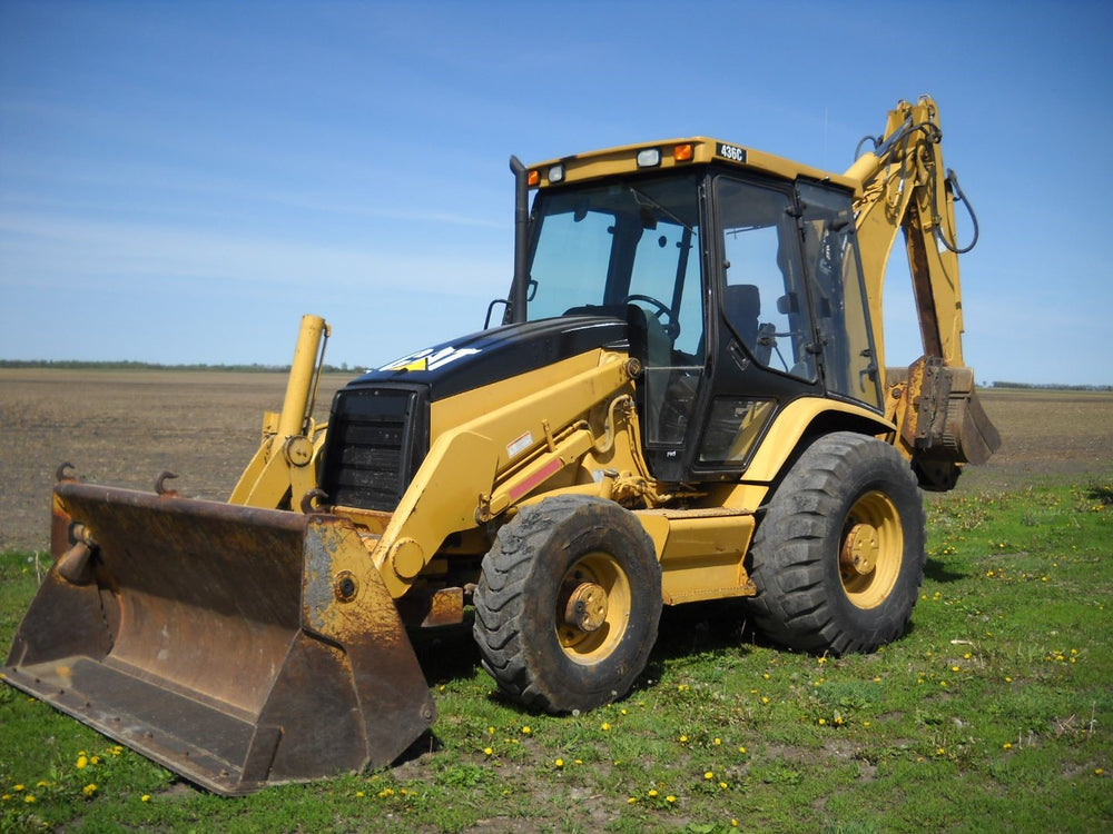 Caterpillar 436C Backhoe Loader Official Workshop Service Repair Manual For Serials 2AR