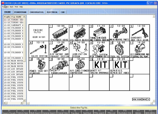 EPC parts catalog | Cat service manual | EPC-Electronic Parts