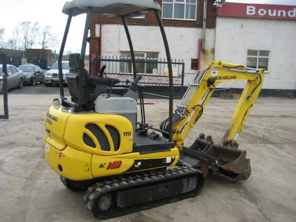 New Holland E16-E18 Mini Crawler Excavator Official Workshop Service Repair Technical Manual