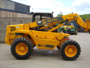 JCB 520-55 526 526S 526-55 Telescopic Handler  Workshop Service Repair Manual