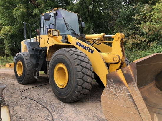 Komatsu Galeo WA450-6 WA480-6 KA SPEC. Wheel Loader Official Workshop Service Manual