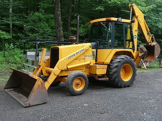 John Deere 410B 410C 510B 510C Backhoe Loaders Official Operation & Test Technical Manual