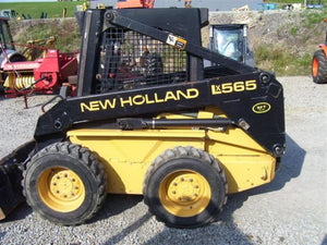 New Holland L565 LX565 LX665 Skid Steer Loader Official Workshop Service Repair Technical Manual