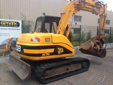 JCB JS70 Tracked Excavator Workshop Service Manual