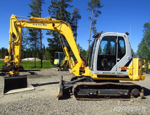 New Holland E80BMSR Midi Crawler Excavator Official Workshop Service Repair Technical Manual