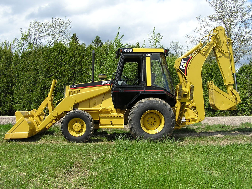 416B Backhoe Loader Workshop Service Repair Manual Serials 8ZK