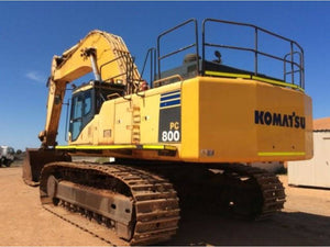 Komatsu PC800-7 PC800SE-7 Hydraulic Excavator Official Field Assembly Instruction Manual