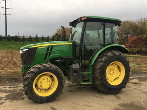 John Deere 5085E & 5100E (FT4) Tractors Official Diagnostic & Service Repair Technical Manual