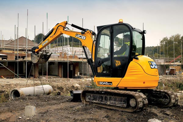 JCB 8050RTS 8050ZTS 8040ZTS 8045ZTS 8055RTS 8055ZTS 8055RTS Mini Crawler Excavator Workshop Manual