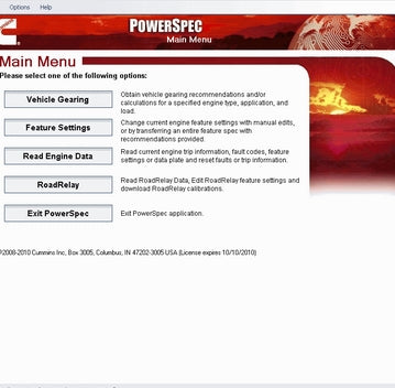Cummins PowerSpec 6.1.1.0 -Electronic Tool For Engine Operation - Full 2016 Version