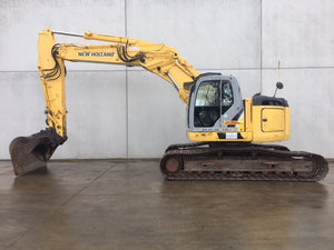 New Holland Mini Crawler Excavator E235BSR Official Workshop Service Repair Technical Manual