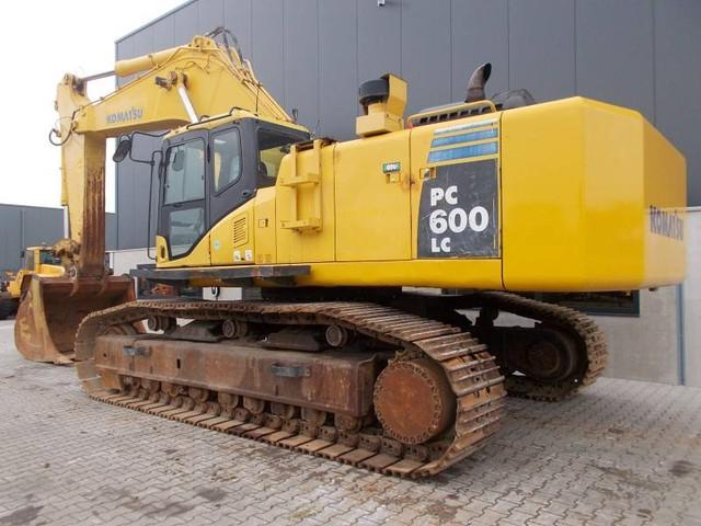 Komatsu PC600-8 PC600LC-8 Hydraulic Excavator Official Workshop Service Manuel