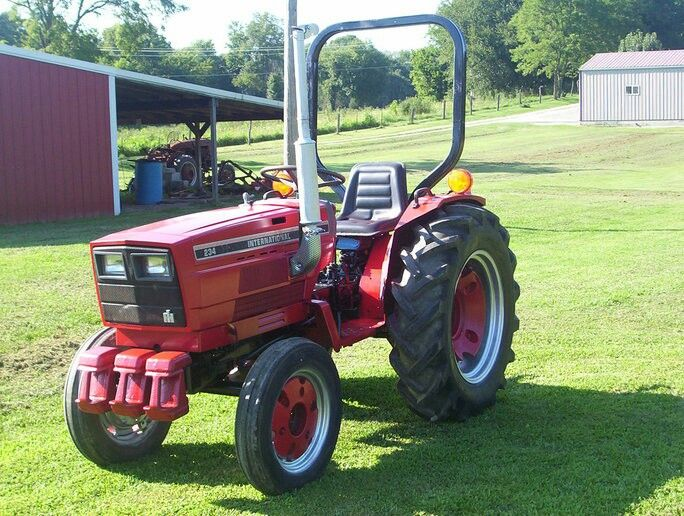 Case IH 234 244 254 Tractors Official Workshop Service Repair Manual
