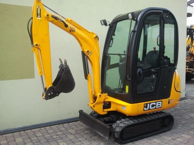 JCB 8014 8015 8016 8017 8018 Mini Excavators Oparator Parts Catalogue Manual