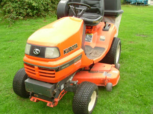 Kubota G2160 G2160-R48S G2460G Ride On Mower Official Workshop Service Repair Manual