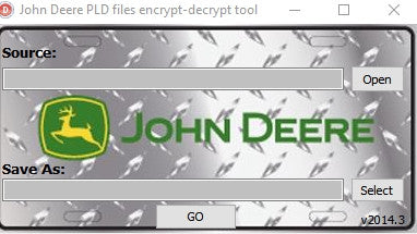 John Deere crypte l'outil Editor 'Payloads PLD files ' Calibartion Files