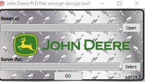 John Deere encrypt\decrypt tool Editor +Payloads PLD files & Calibartion Files