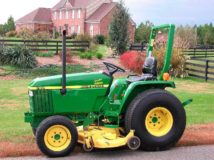 John Deere 790 Compact Utility Tractors Technical Service Manual
