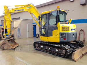 Komatsu PC88MR-8 Hydraulic Excavator Official Workshop Service Manuel technique de réparation
