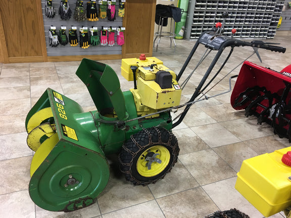 John Deere 826  U0026 1032 Snow Blowers Official Operator U0026 39 S