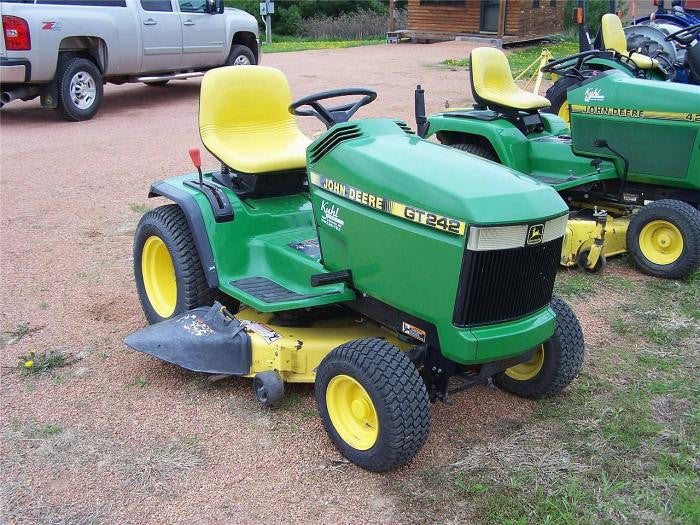 Mowers Gt Gt Large X on John Deere Lawn Tractor Technical Manual
