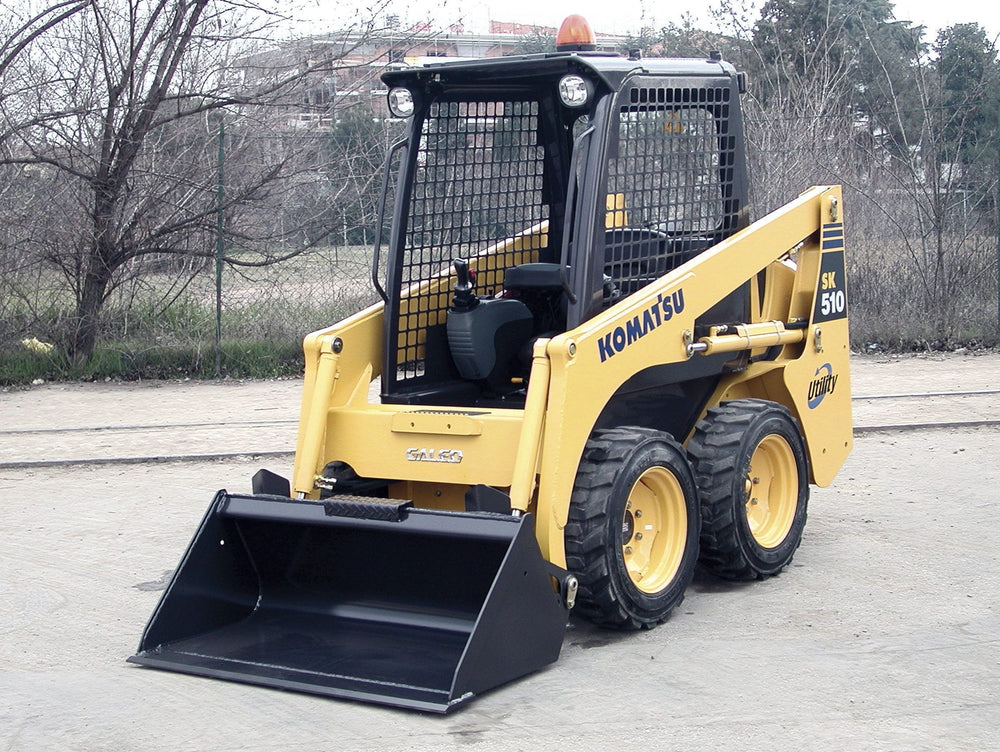 Komatsu SK510-5 Skid Steer Loader Offizielle OEM Workshop Service Reparaturanleitung