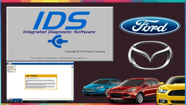 Ford IDS Diagnostic Software 112.01 -  2019 Version With Online & Offline Programming NATIVE Install ! Online installation Service !