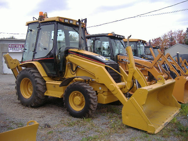 Caterpillar 420D Backhoe Loader Parts Manual \ Parts Catalog