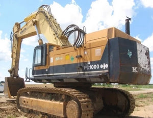 Komatsu PC1000SE-1 PC1000SP-1 Hydraulic Excavator Official Workshop Service Manual