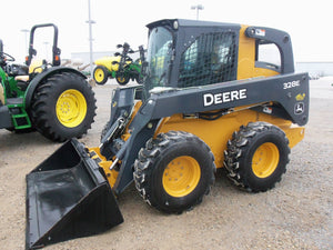 John Deere 328E 329E 332E & 333E Skid Steer & Compact Track Loader Official  Workshop Service Repair Technical Manual