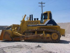 Komatsu D475A-2 Bulldozer Official Workshop Service Repair Technical Manual