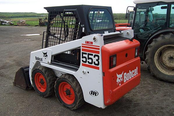 Bobcat 553 Skid Steer Loader Series Workshop Service Repair Manual