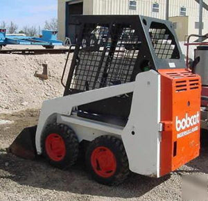 Bobcat 600 600D 610 611 Skid Steer Loader Workshop Service Manual