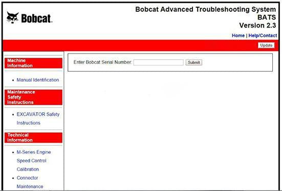 Bobcat Advanced Troubleshooting System (BATS) v2.3 (2017) - Online-Installationsservice inbegriffen!