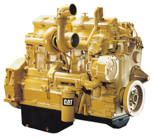 Caterpillar 3406C Marine Auxiliary Generator Set Parts Manual \ Parts on