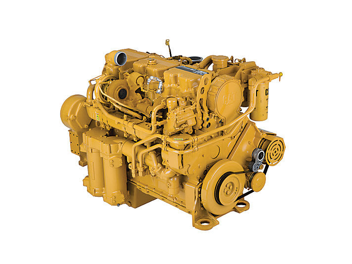 Caterpillar C15 Acert Truck Engine Disassembly Assembly