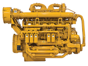Caterpillar 3512C Engine Parts Manual \ Parts Catalog