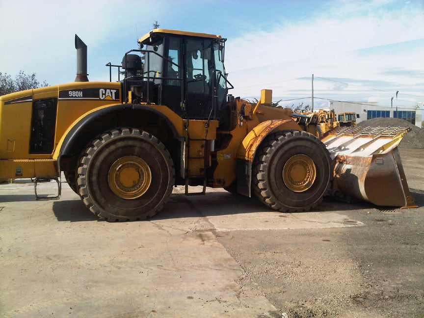 Caterpillar 980H Wheel Loader Electrical System Schematics \ Wiring Diagrams Vol 1 & 2